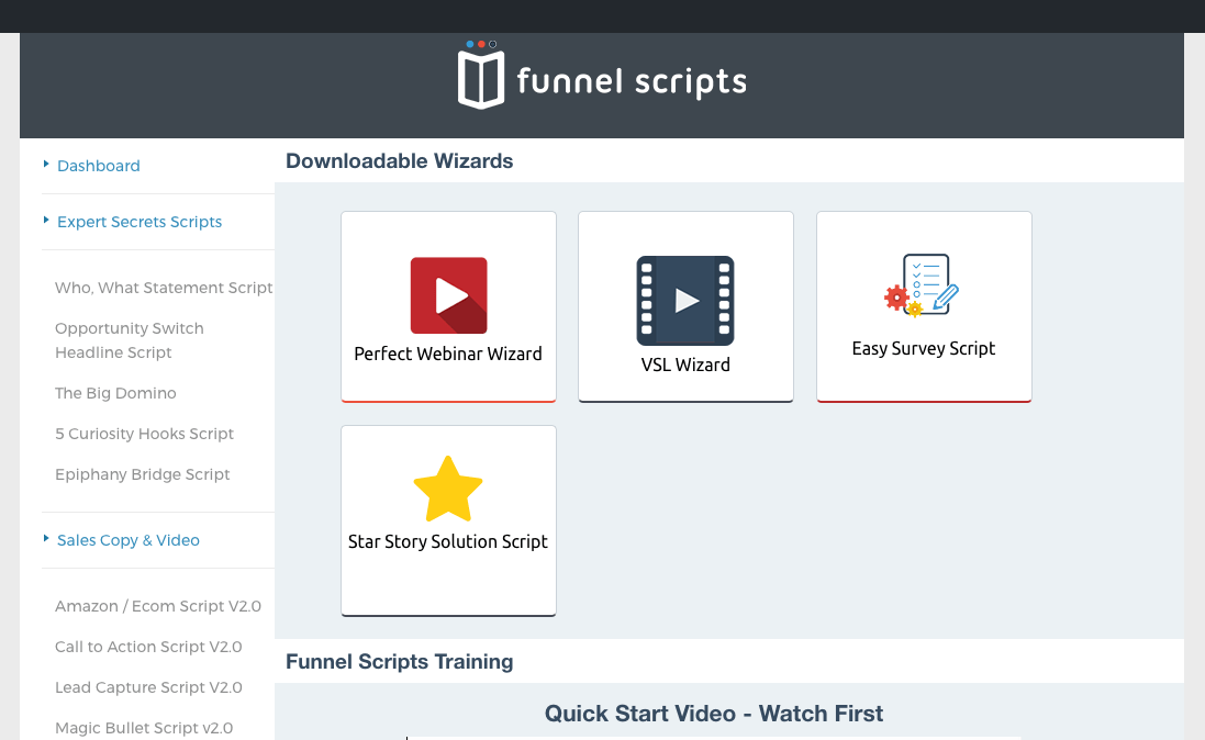 funnel scripts free download