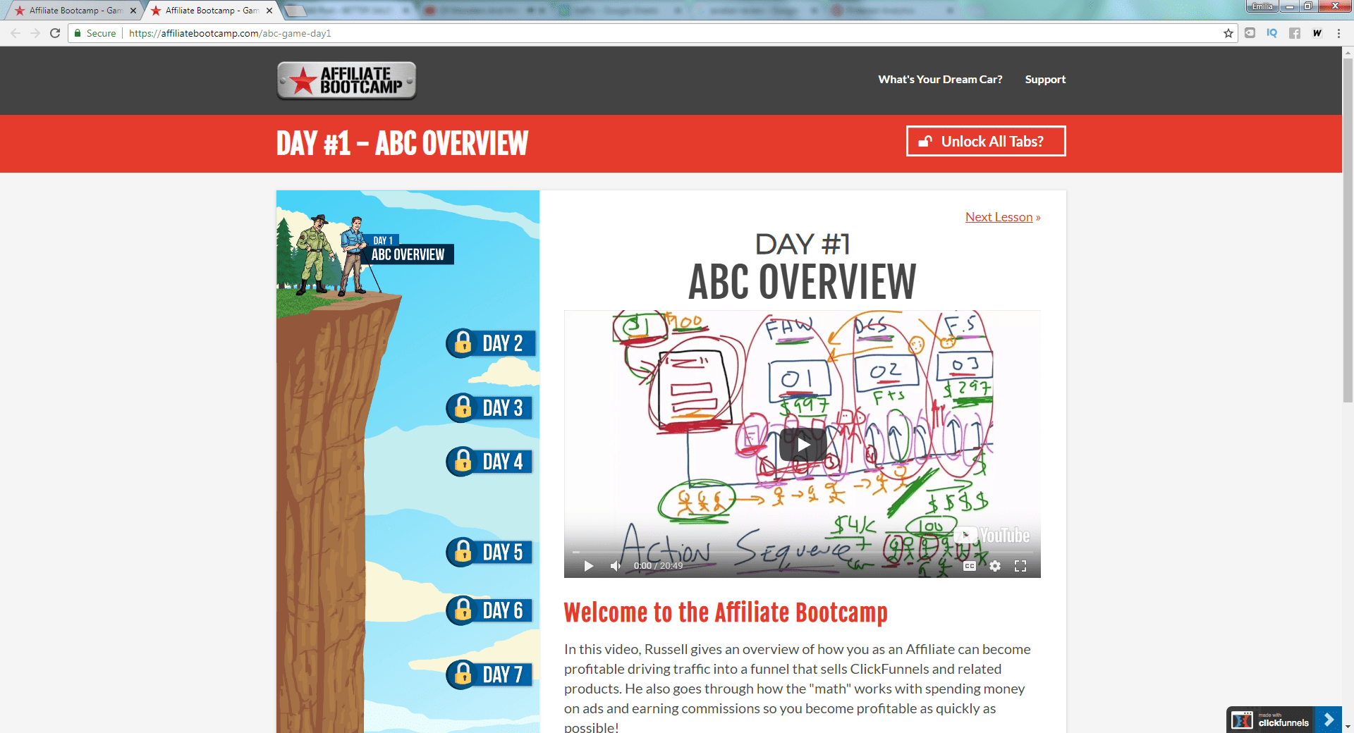clickfunnels affiliate bootcamp review