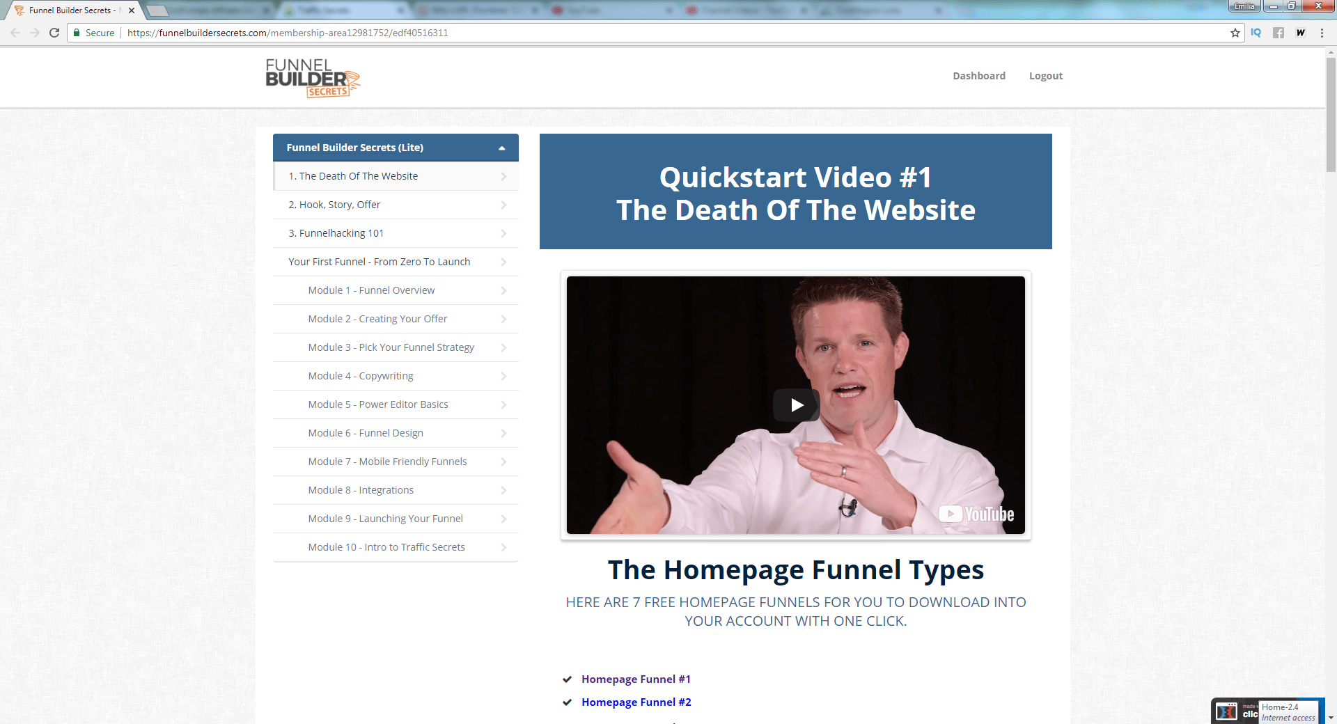free clickfunnels training