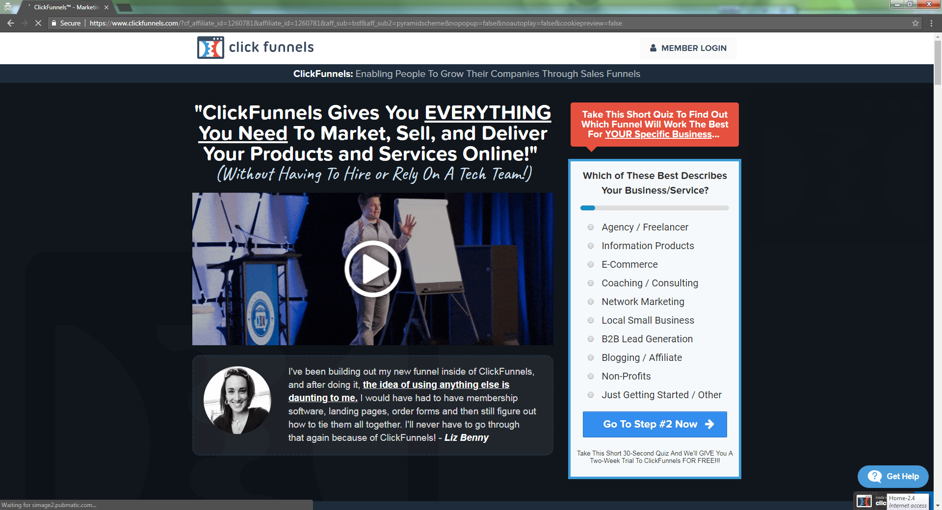 what is clickfunnels used for