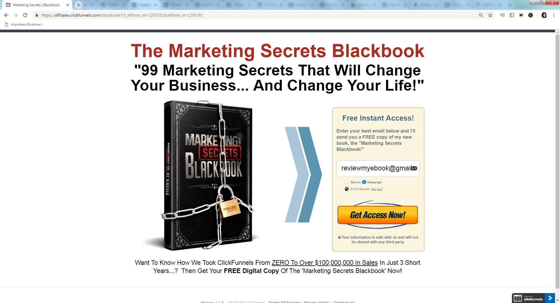 click funnels book